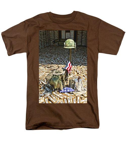 War Dogs Sacrifice Men's T-Shirt  (Regular Fit) by Carolyn Marshall