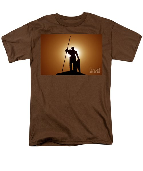 Warrior Men's T-Shirt  (Regular Fit) by David Lee Thompson