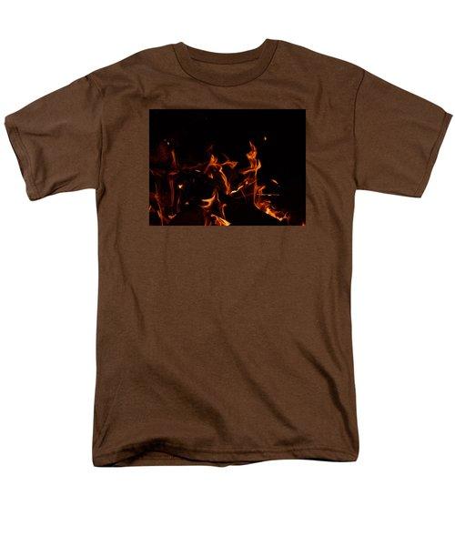 Warrior Rabbit Men's T-Shirt  (Regular Fit) by Janet Rockburn