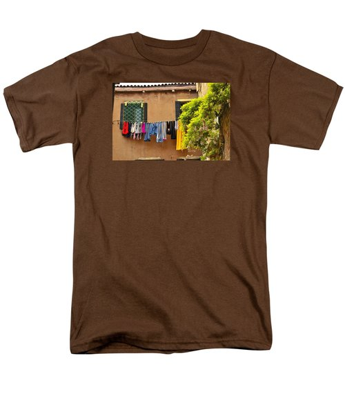 Wash Day In Venice Men's T-Shirt  (Regular Fit) by Richard Ortolano