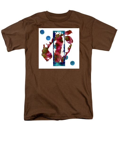 Men's T-Shirt  (Regular Fit) featuring the painting Watercolor Abstract 1 by Kandy Hurley