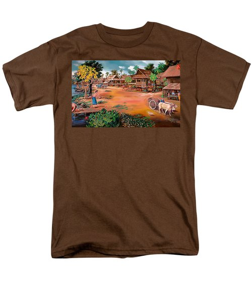 Waterside Town Community Men's T-Shirt  (Regular Fit) by Ian Gledhill