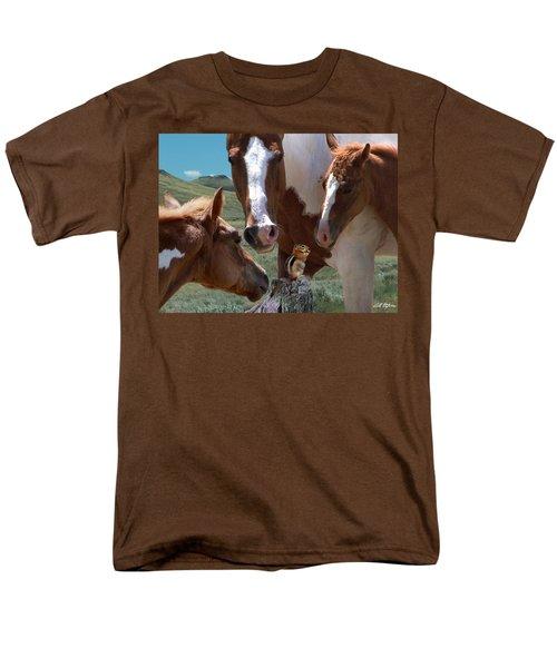 Watizit Men's T-Shirt  (Regular Fit) by Bill Stephens