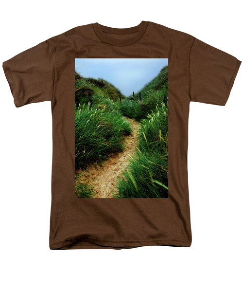 Way Through The Dunes Men's T-Shirt  (Regular Fit) by Hannes Cmarits