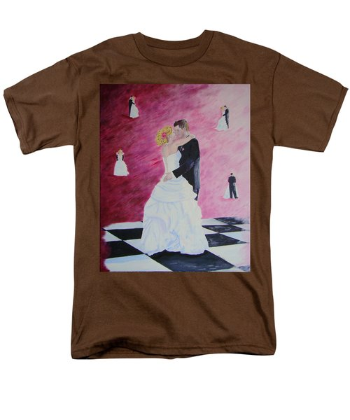 Wedding Dance Men's T-Shirt  (Regular Fit) by Lisa Rose Musselwhite