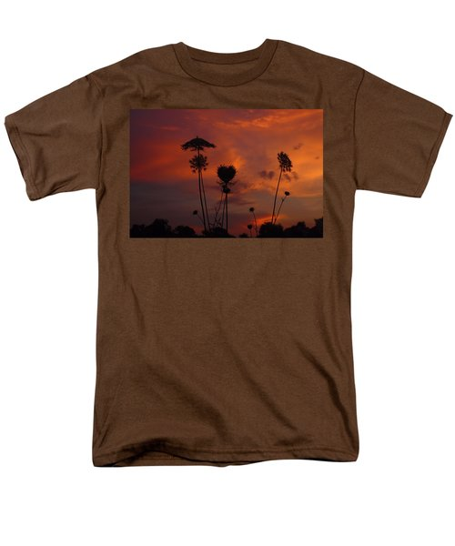 Weeds In The Sunrise Men's T-Shirt  (Regular Fit) by Kathryn Meyer