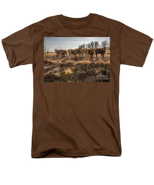 Welcoming Committee Men's T-Shirt  (Regular Fit) by Sue Smith