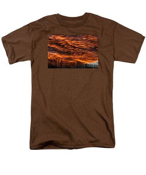 West Virginia Afterglow Men's T-Shirt  (Regular Fit) by Thomas R Fletcher