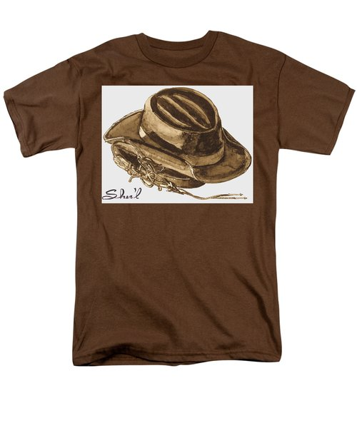Men's T-Shirt  (Regular Fit) featuring the painting Western Apparel by Sher'l