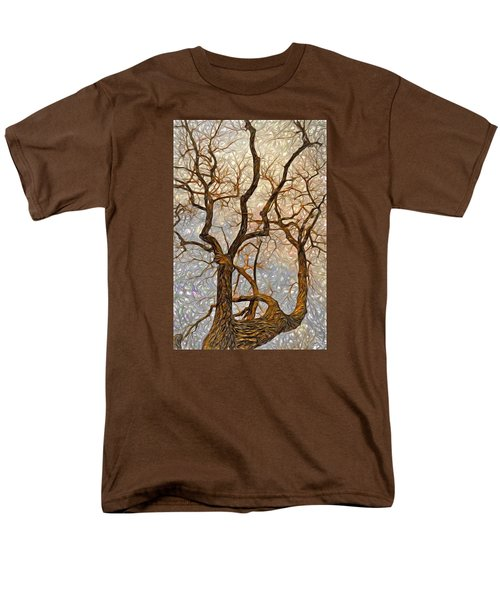 What We See The Mind Believes Men's T-Shirt  (Regular Fit) by James Steele