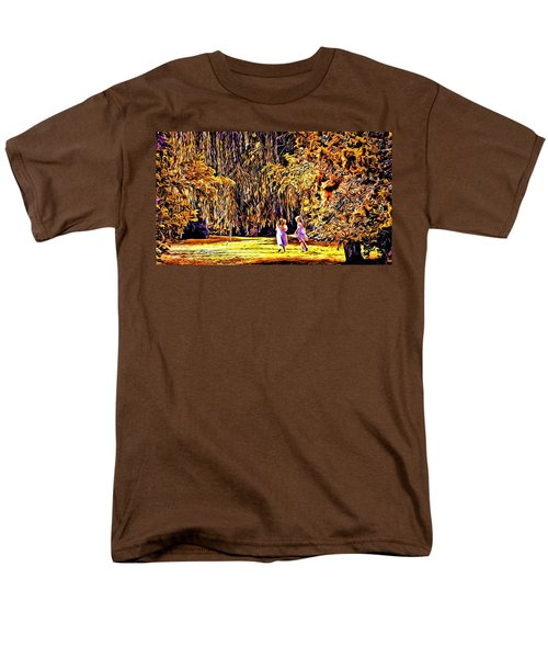 Men's T-Shirt  (Regular Fit) featuring the photograph When We Were Young... by Barbara Dudley