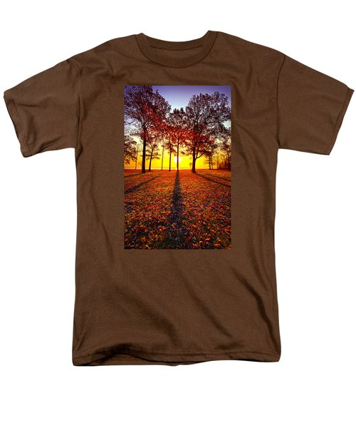 Where You Have Been Is Part Of Your Story Men's T-Shirt  (Regular Fit) by Phil Koch