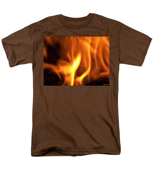 Men's T-Shirt  (Regular Fit) featuring the photograph White Hot by Betty Northcutt
