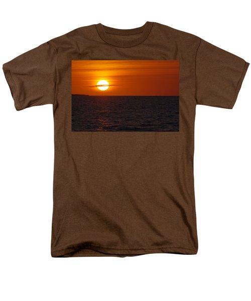 Men's T-Shirt  (Regular Fit) featuring the photograph White Street Pier Sunrise by Greg Graham