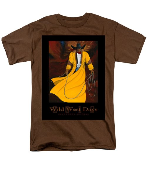 Wild West Days 2012 Men's T-Shirt  (Regular Fit) by Lance Headlee