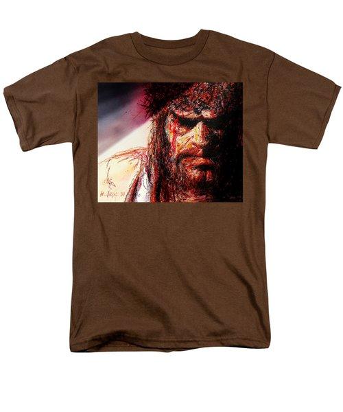 Willem Dafoe - Actor Men's T-Shirt  (Regular Fit) by Hartmut Jager