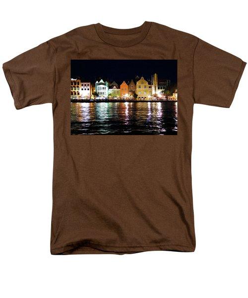 Men's T-Shirt  (Regular Fit) featuring the photograph Willemstad, Island Of Curacoa by Kurt Van Wagner