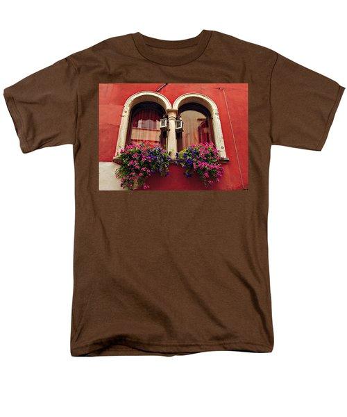 Windows In Venice Men's T-Shirt  (Regular Fit) by Tamara Sushko