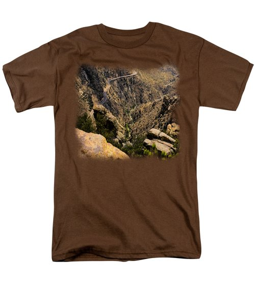 Windy Point No.9 Men's T-Shirt  (Regular Fit) by Mark Myhaver