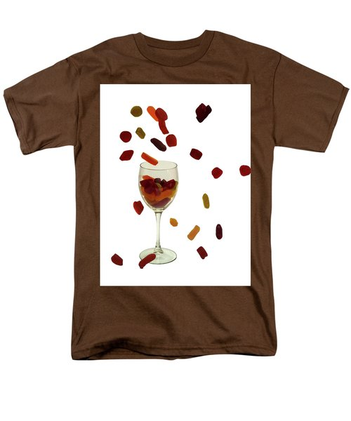 Men's T-Shirt  (Regular Fit) featuring the photograph Wine Gums Sweets by David French