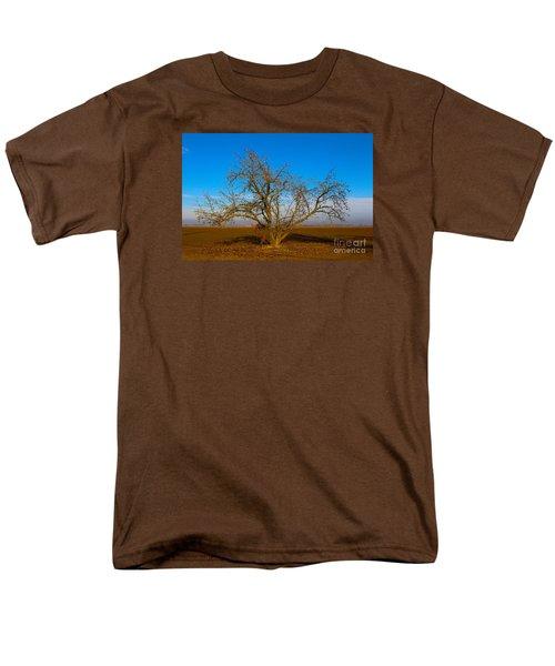 Winter Apple Tree Men's T-Shirt  (Regular Fit) by Suzanne Lorenz