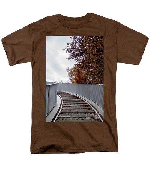 Winter Is Around The Corner Men's T-Shirt  (Regular Fit) by Ana Mireles