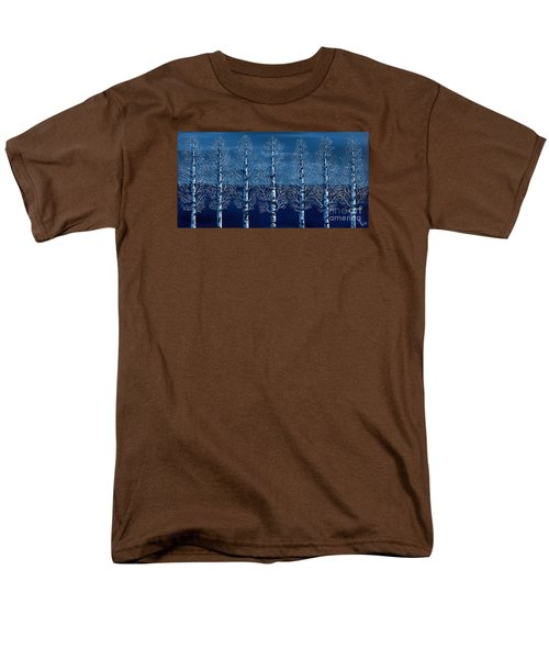 Winter Shadows Men's T-Shirt  (Regular Fit) by Rebecca Parker