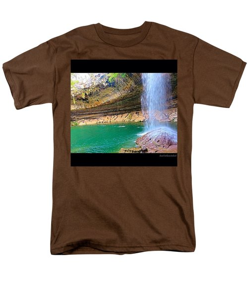 Wishing You A #beautiful #zen Like Day! Men's T-Shirt  (Regular Fit) by Austin Tuxedo Cat