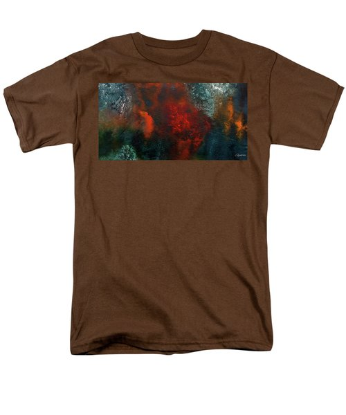 Men's T-Shirt  (Regular Fit) featuring the painting Wonderland by Carmen Guedez