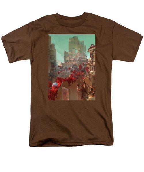 Wonders Hanging Garden Of Babylon Men's T-Shirt  (Regular Fit) by Te Hu
