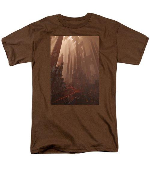 Wonders_temple Of Artmeis Men's T-Shirt  (Regular Fit) by Te Hu