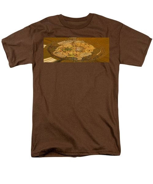 Men's T-Shirt  (Regular Fit) featuring the photograph Wood Abstracted by Lenore Senior