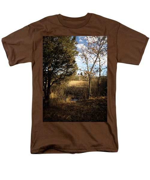 Men's T-Shirt  (Regular Fit) featuring the photograph Woodland View  by Kimberly Mackowski