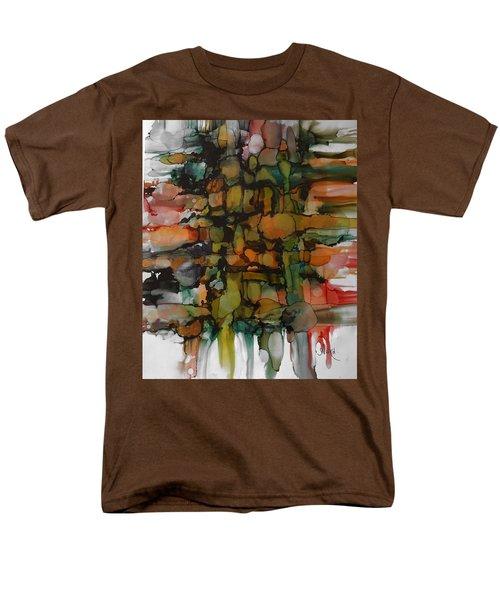 Woven Men's T-Shirt  (Regular Fit) by Alika Kumar