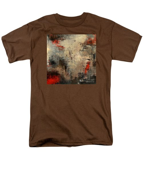 Men's T-Shirt  (Regular Fit) featuring the painting Wreckage by Tatiana Iliina