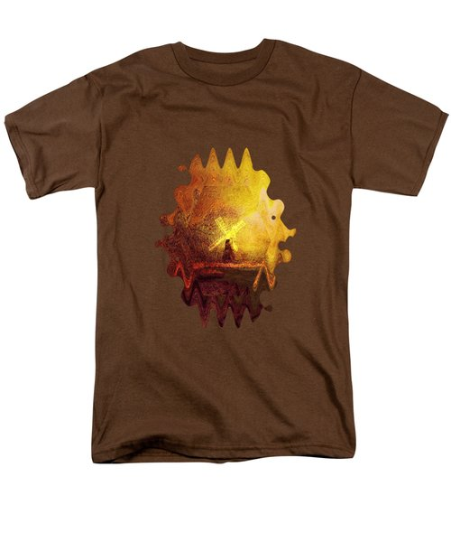 Ye Olde Mill Men's T-Shirt  (Regular Fit) by Valerie Anne Kelly