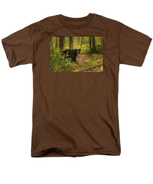 Yearling Black Bear Men's T-Shirt  (Regular Fit)