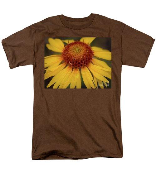 Yellow Cone Flower Men's T-Shirt  (Regular Fit) by John Roberts