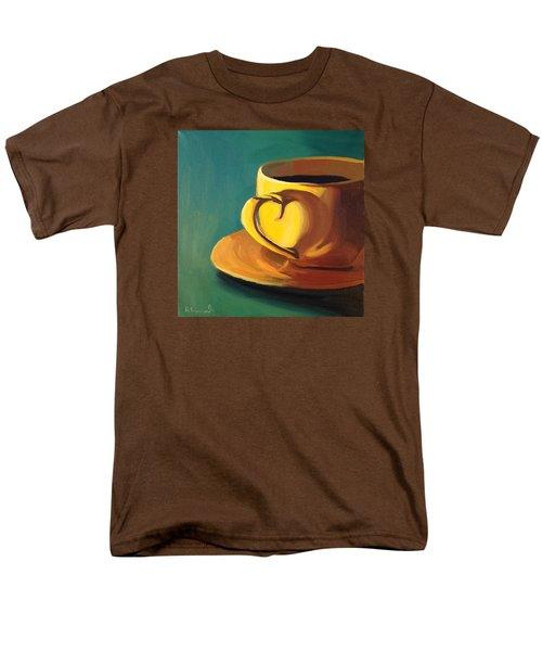 Yellow Java Men's T-Shirt  (Regular Fit) by Nathan Rhoads
