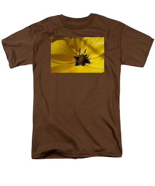 Yellow Tulip 1 Men's T-Shirt  (Regular Fit) by Jean Bernard Roussilhe