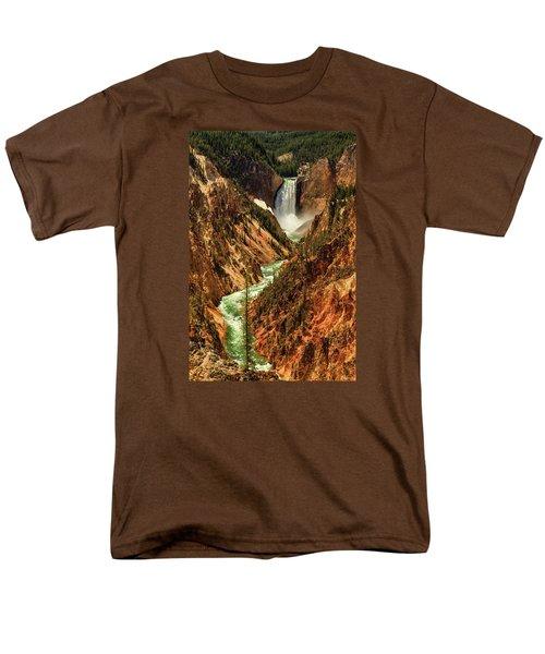 Yellowstone Men's T-Shirt  (Regular Fit) by Rick Furmanek