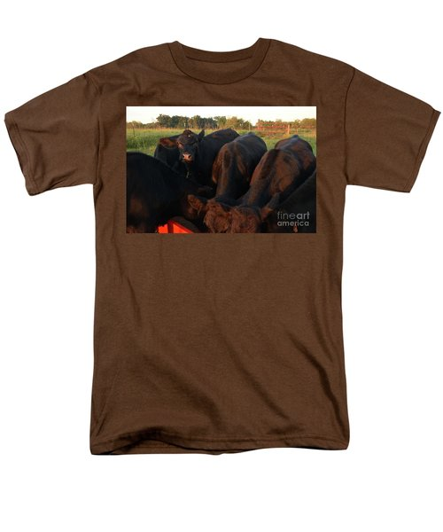 You Lookin At Me? Men's T-Shirt  (Regular Fit) by Mark McReynolds