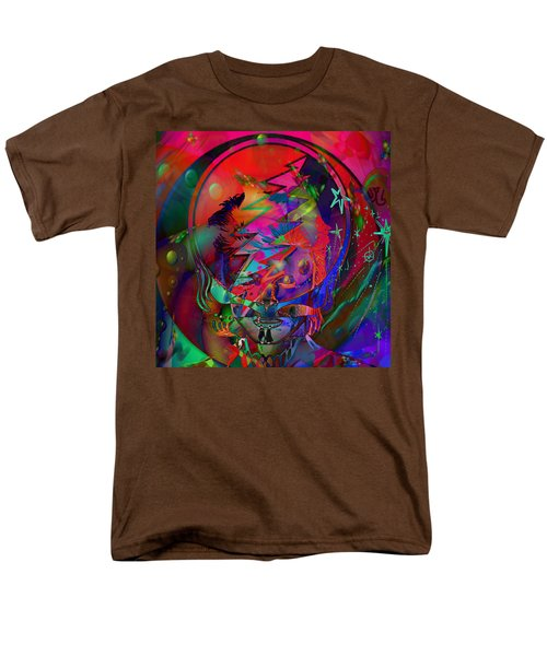 Men's T-Shirt  (Regular Fit) featuring the painting Ziggy  by Kevin Caudill