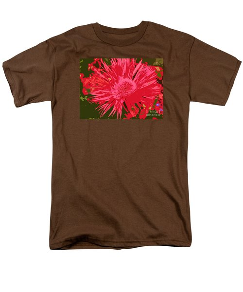 Men's T-Shirt  (Regular Fit) featuring the photograph Zinnia Party by Jeanette French