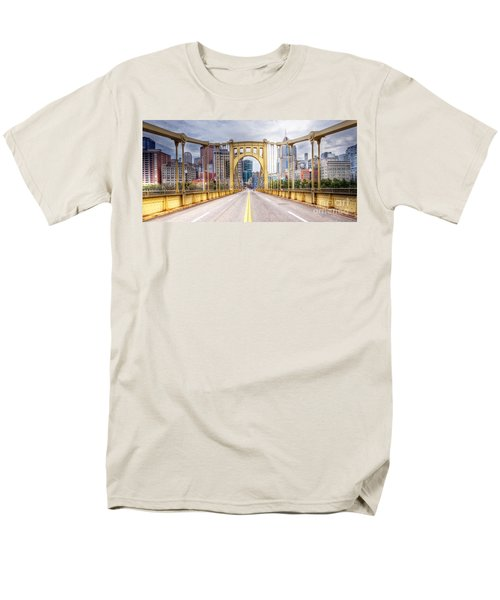0305  Pittsburgh 10 Men's T-Shirt  (Regular Fit) by Steve Sturgill