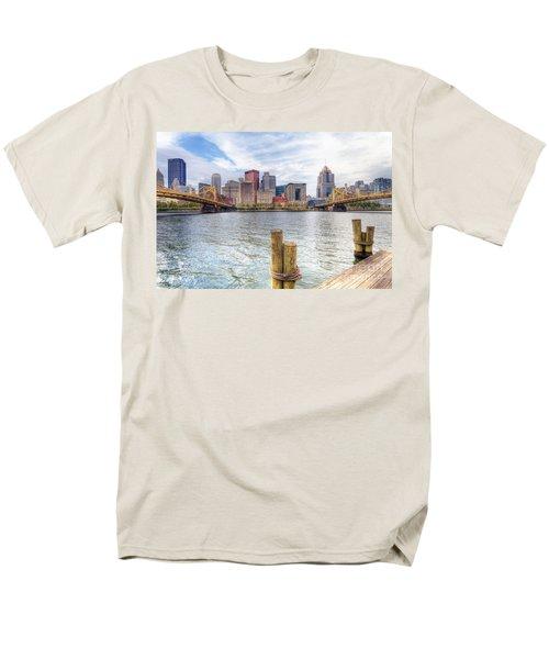 0310 Pittsburgh 3 Men's T-Shirt  (Regular Fit) by Steve Sturgill