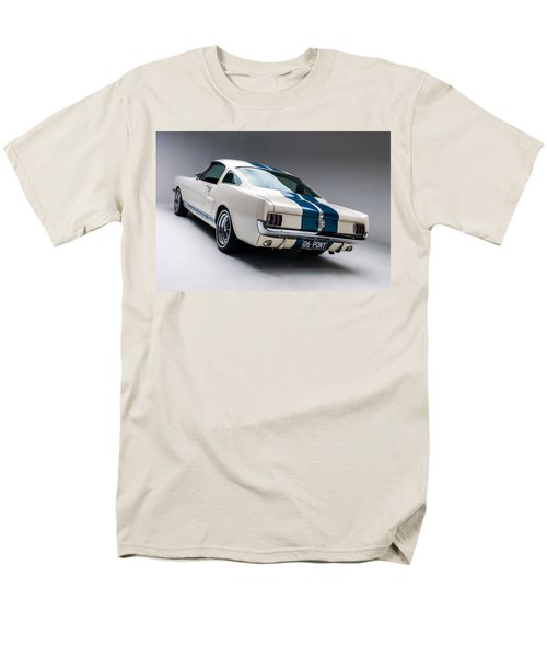Men's T-Shirt  (Regular Fit) featuring the photograph 1966 Mustang Gt350 by Gianfranco Weiss