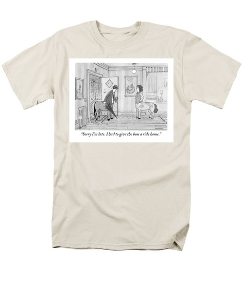 A Male Centaur Men's T-Shirt  (Regular Fit)