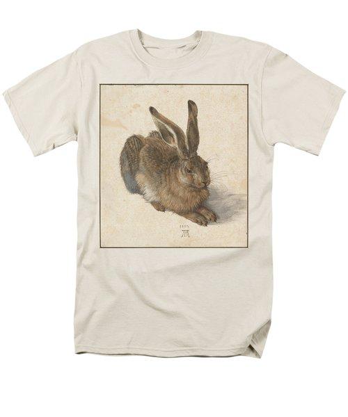 Young Hare Men's T-Shirt  (Regular Fit) by Albrecht Durer