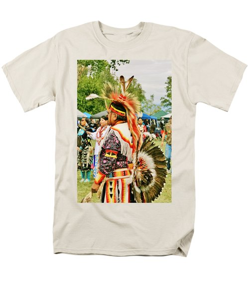 Indian Finery Men's T-Shirt  (Regular Fit) by Marilyn Diaz